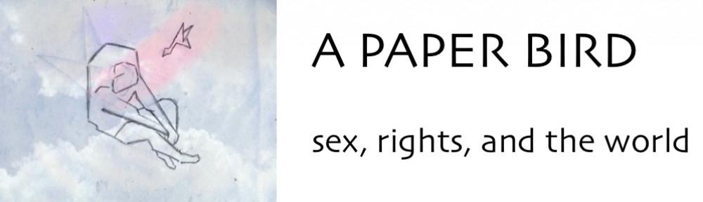 a  paper  bird