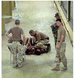 Americans bringing democracy to Iraq