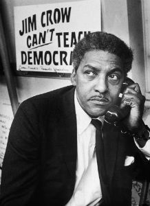You may be right, Mr. Rustin. But we can teach democracy by invading other countries and killing people. Can't we?
