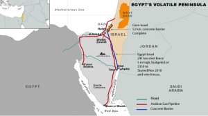 A way in to a walled-off country: Gas enters Israel, Gazans and Egyptians can't