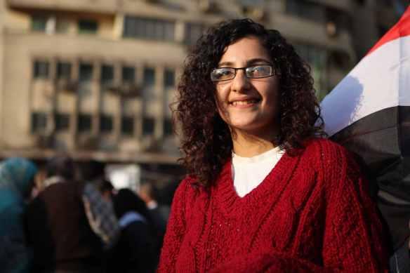 Mona Seif, Tahrir Square