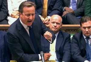All over but the shouting: Cameron in the House of Commons, August 29