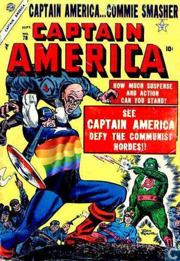 Captain America, 2013 style