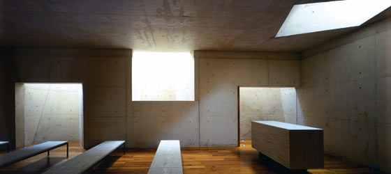 Postmodern charnel house; Leon City Morgue, by Jorge Badi