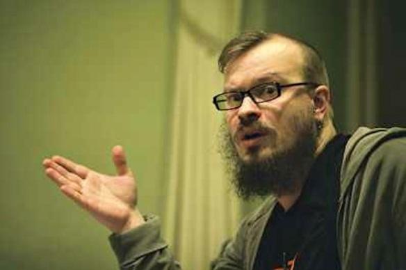 Aleksei Kozlov, a hero of Moscow Pride
