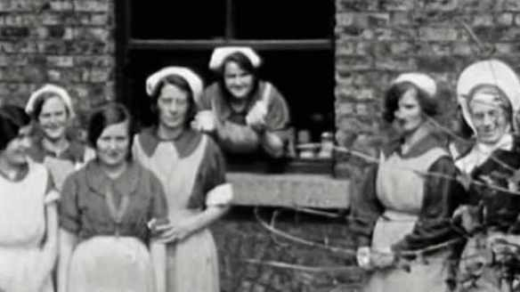 Women in Magdalene laundries, ca. 1930s