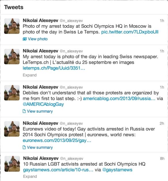 alexeyev sochi protest tweets