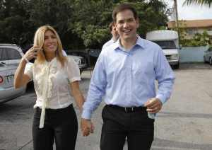 Rubio and wife: Lose the beard, my alarm bells are ringing