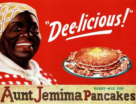 Ad for Aunt Jemima pancakes, 1950