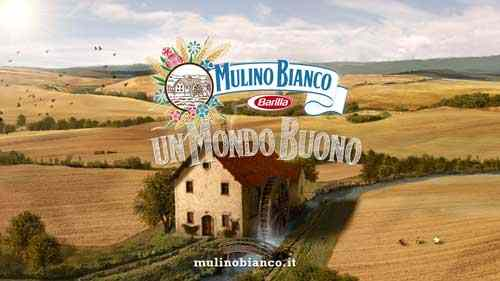 Everything is happy here, we love bread and the opposite sex and we especially love the Duce: From a Barilla commercial for Mulino Bianco