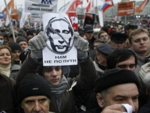 2012 pro-democracy protest in Moscow: The kind of thing in which Alekseev never took part