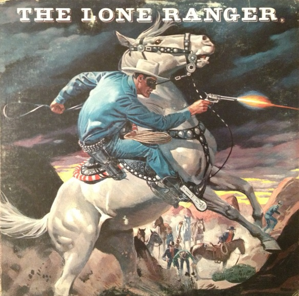 The Lone Ranger (cover)