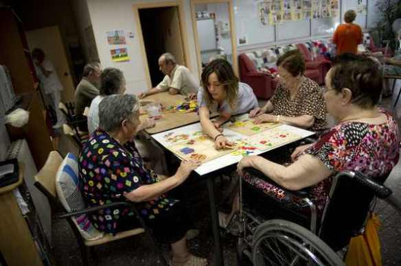 Don't ask me to push your wheelchair: Elderly home in Catalunya, Spain