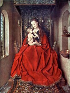 We need more of these: Jan van Eyck, Lucca Madonna, 1436