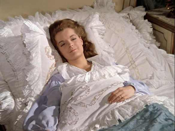 Sharing our dreams: The General (played by Romy Schneider) settles into sleep by counting murdered members of the Muslim Brotherhood