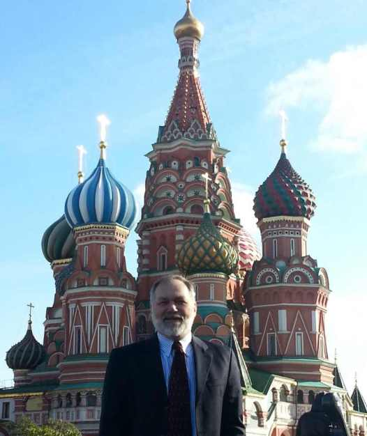 Scott Lively at St. Basil's: My European vacation