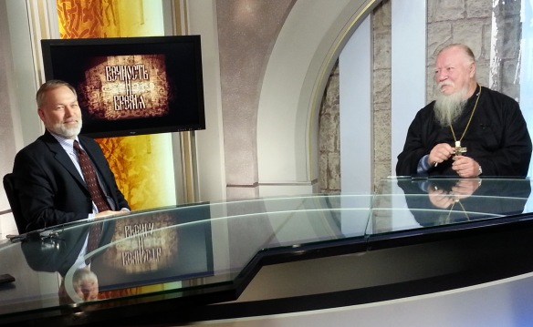 Lively interviewed on TV by Archpriest Dmitri Smirnov, President of the Orthodox Church's Patriarchal Commission on Protecting Family and Motherhood