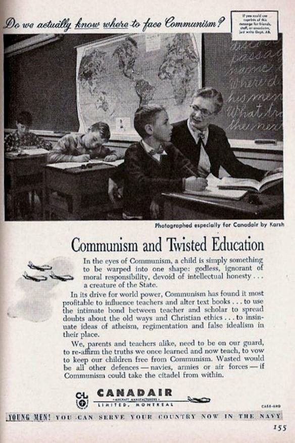 Canadair advertisement, 1955