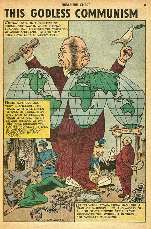 """This Godless Communism"": Treasure Chest comics series, starting in 1961"
