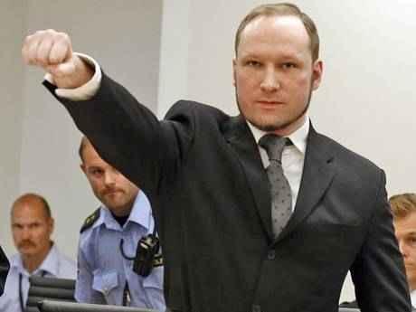 White Power: Anders Breivik in court