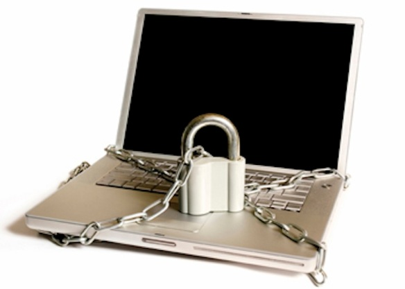 Laptop locktup: Data in chains