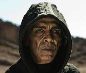 "Some people say I look like Zbigniew Brzezinski: Obama lookalike plays Satan on History Channel miniseries ""The Bible,"" 2012"