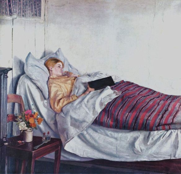 "Michael Ancher, ""The Sick Girl,"" 1882"