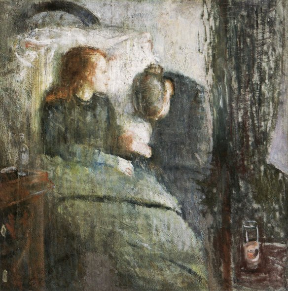 "Edvard Munch, ""The Sick Child,"" 1885-86"