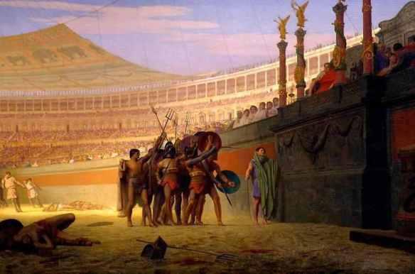 Ave Caesar Morituri te Salutant, by Jean-Léon Gérôme(1859)