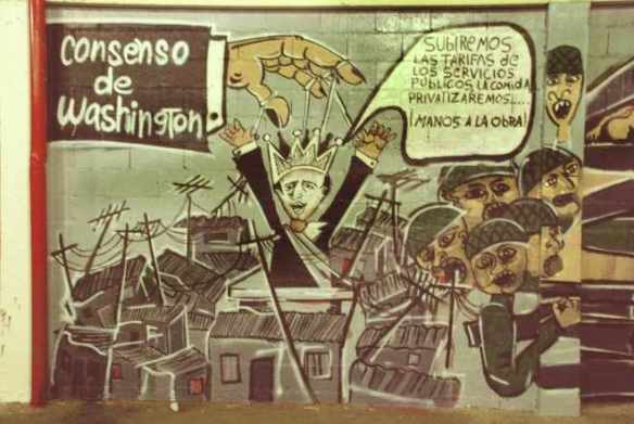 The Washington Consensus: Street art from Argentina