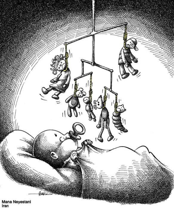 Hanging toys: Cartoon by Mana