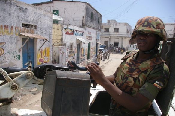 This is stability: Ugandan soldier in Mogadishu, 2007