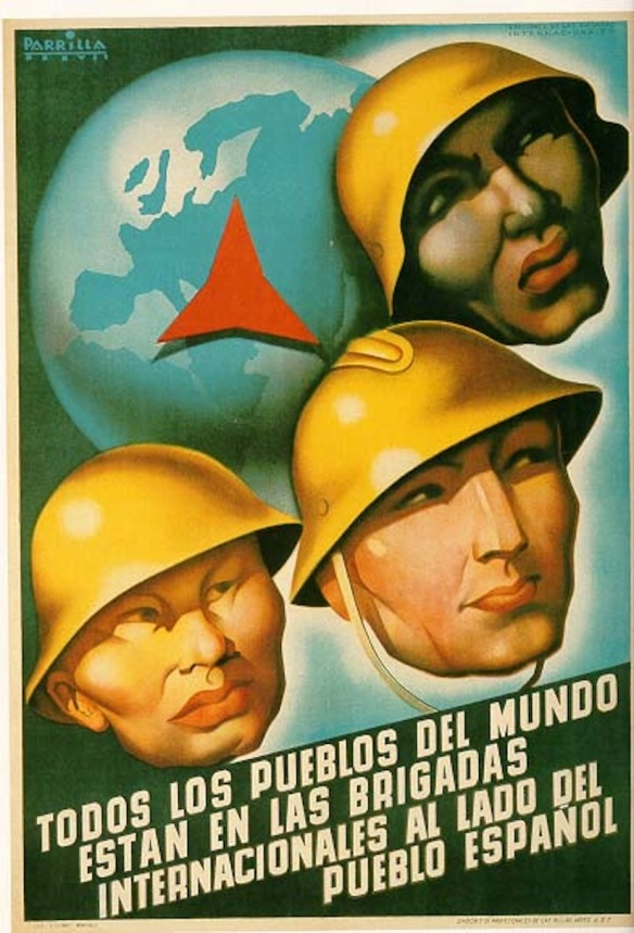 Spanish Republican poster, 1937