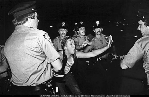 Stonewall riot, New York City, June 27, 1969