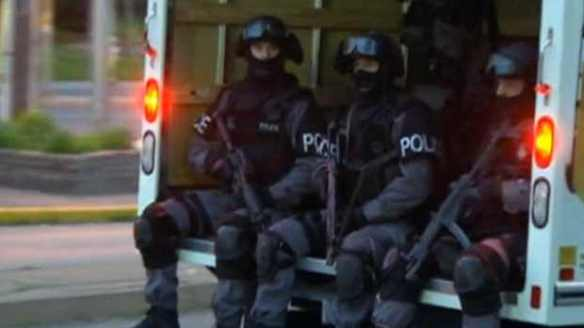 Sitting pretty: TAVIS forces on patrol in Toronto