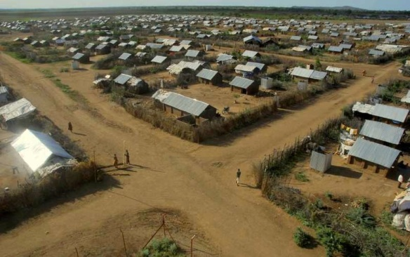 "Housing in ""community areas"" of Kakuma refugee camp, Kenya, 2010: Photo by Matija Kovac"