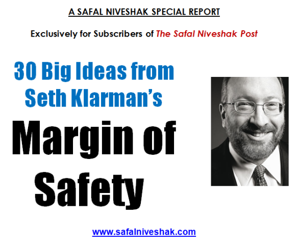 But not for Gaza: Seth Klarman's investment advice