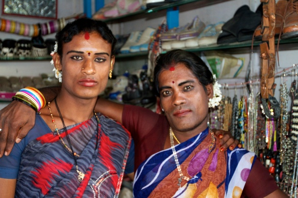 Hijras in Bangalore. Photo by Johanan Ottensooser, at https://www.flickr.com/photos/oatsandsugar/6723701709/