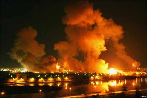 Robust intervention for LGBT rights, I: American bombs fall on Baghdad on the first night of the 2003 war against Iraq