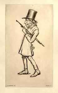 Funny little man: Contemporary caricature of Kierkegaard
