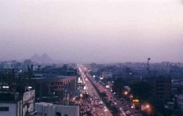 Haram Road: Photo by Marwan Abdelhamed
