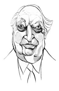 Bernard Lewis as drawn by the Spectator (UK). Turks may notice the resemblance to Suleyman Demirel.