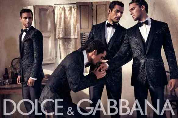 I love you. Are those synthetic fabrics? Dolce & Gabbana ad, 2010