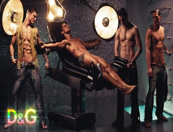 Surveillance hurts: Dolce & Gabbana ad, 2012