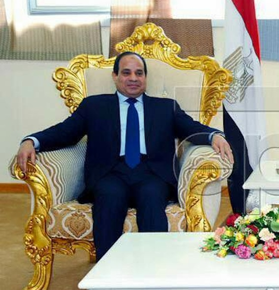 Game of thrones: Sisi at his most Napoleonic