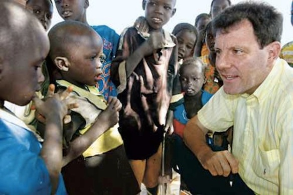 This bridge called your back: Kristof inspecting raw materials