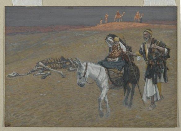 Joseph Tissot, The Flight into Egypt, ca. 1886-1894