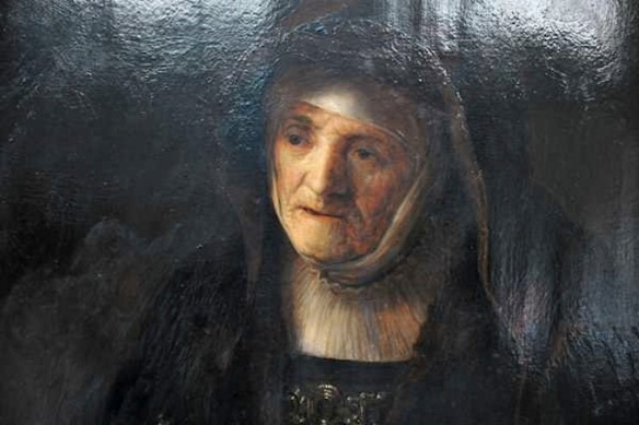 Rembrandt van Rijn, Portrait of the Artist's Mother
