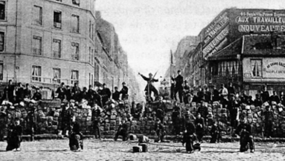 Change: Communards in Paris, March 1871