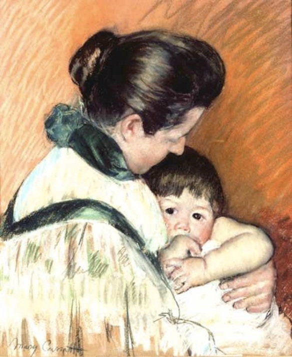 Mary Cassatt, Mother and Child XX